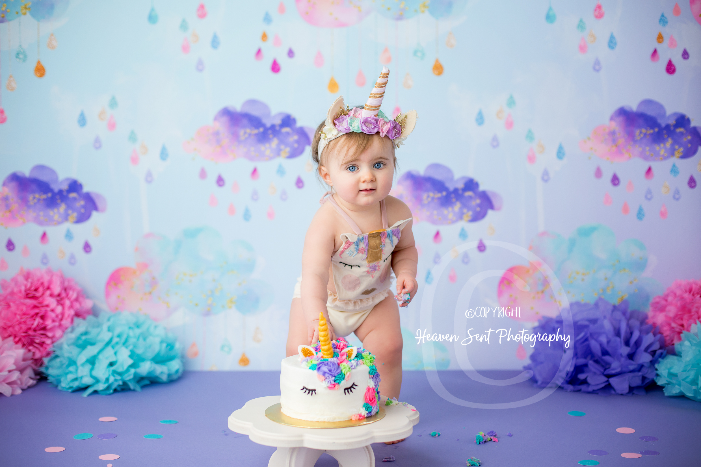 Ivy Cake Smash Heaven Sent Photography