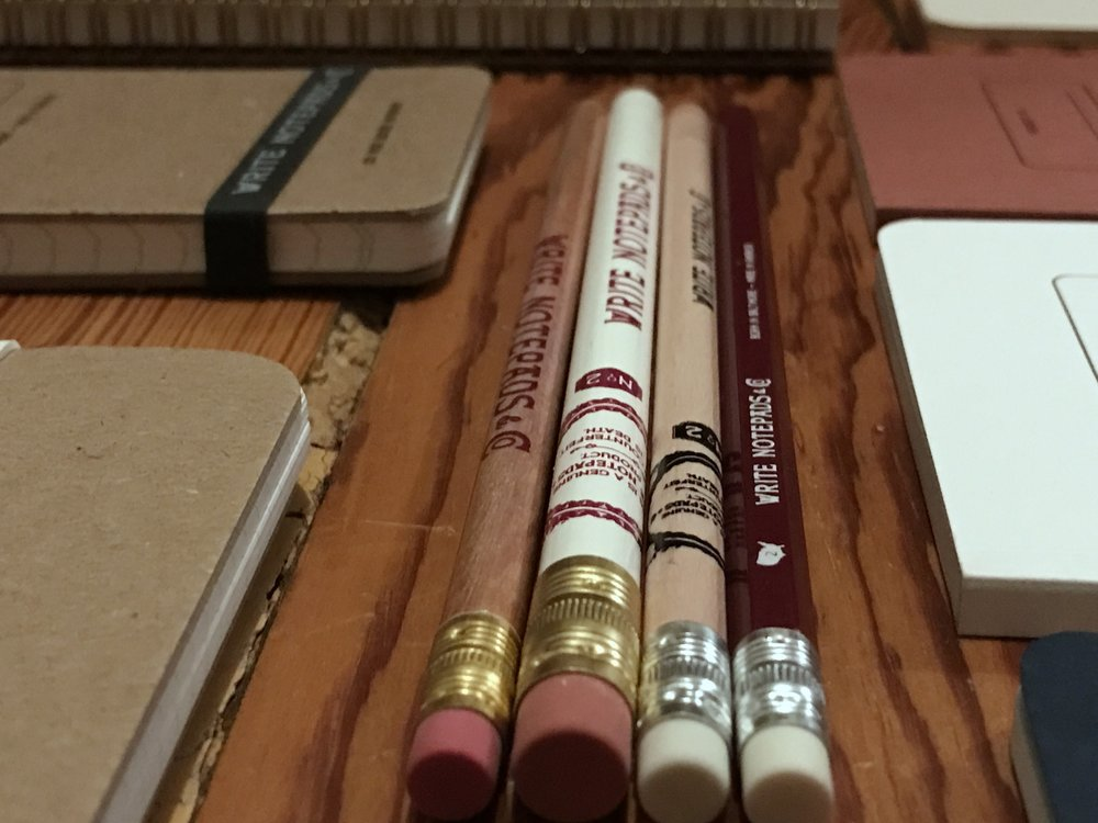 Can pencils be sexy? Yes. absolutely. Especially the hex in my Saluki colors!
