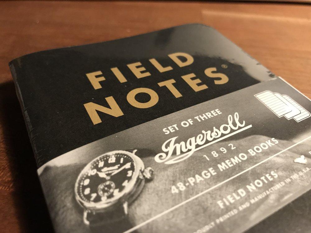 Field Notes + Ingersoll