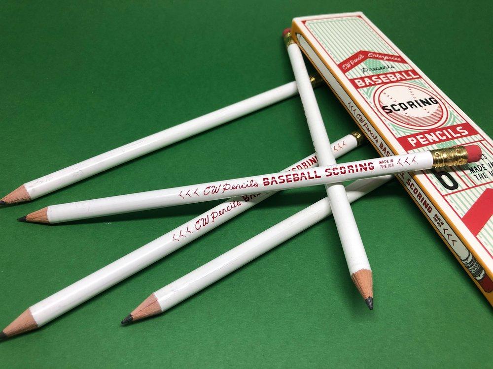 CWPE x General's Baseball Scoring Pencil.