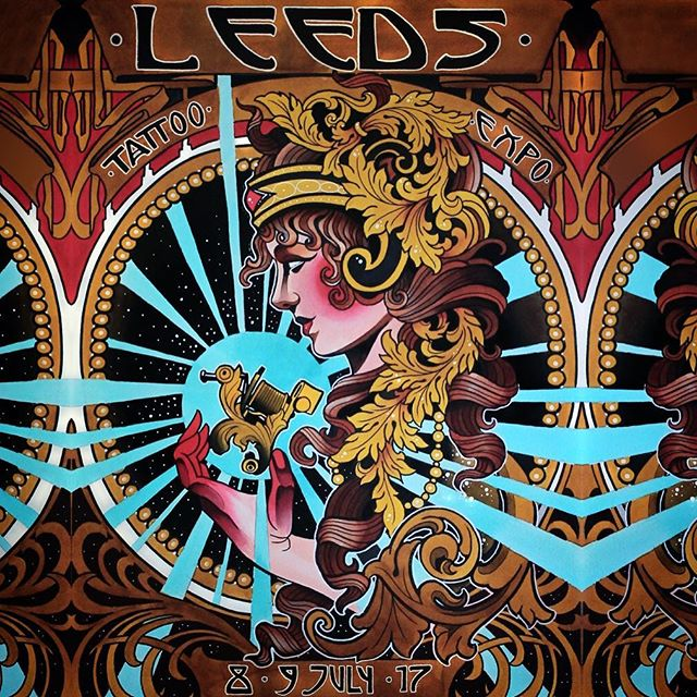 Looking forward to this at the weekend! @leedstattooexpo #leedstattooexpo