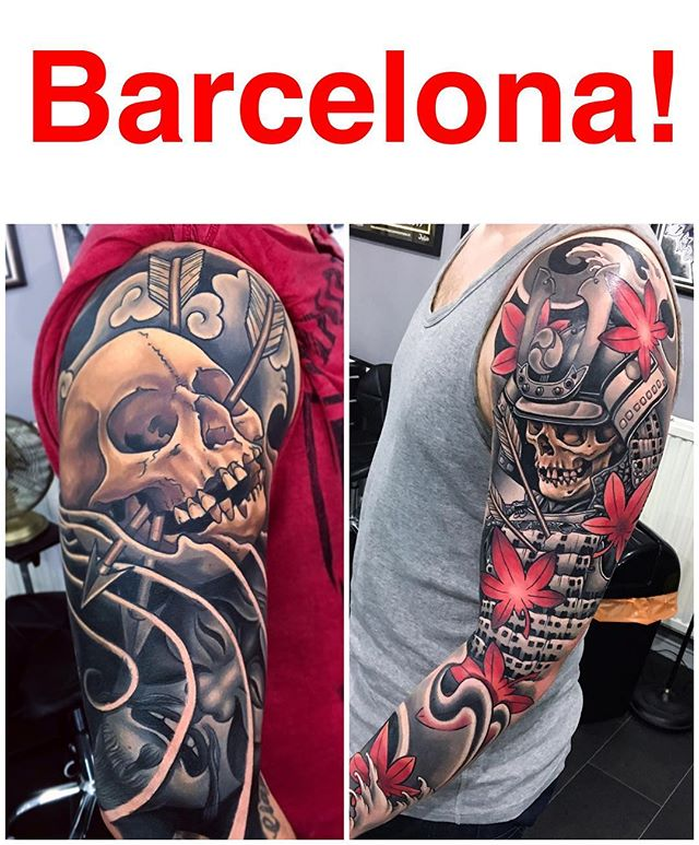 I have had a cancellation at the @barcelonatattooexpo on the 1st of October ! Please email me at joecarpentertattoo@gmail.com if you're interested, thanks!
