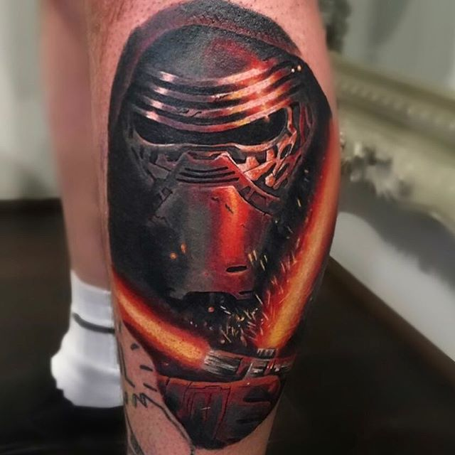 🎉Books open to on-going work/existing clients only 🎉 this is for appointments from Jan-March 2018.  Please email me at hannahtattoosnorfolk@gmail.com. We'll be getting back to everyone over the next week or two. Thank you for your patience!  #repost #starwars #realism #tattoo #kyloren #colourtattoo #eternalink #inkjecta