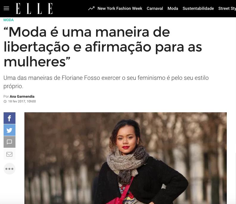 ELLE BRAZIL - FEBRUARY 2017