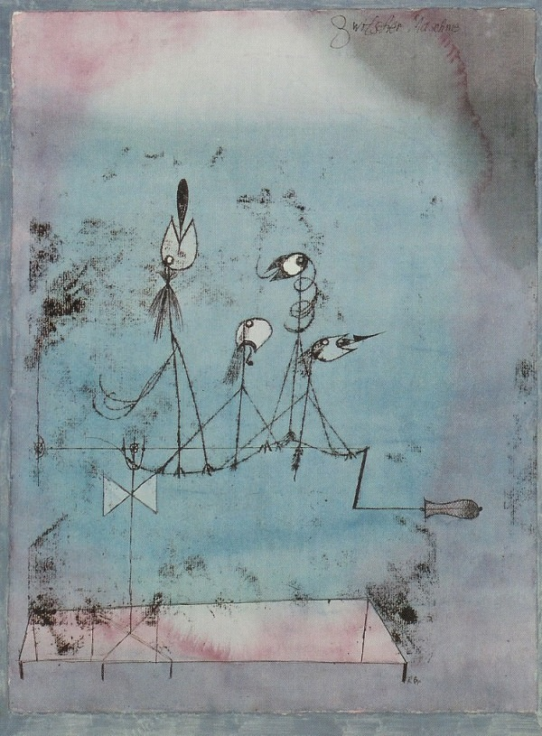 Twittering Machine  by Paul Klee, 1922