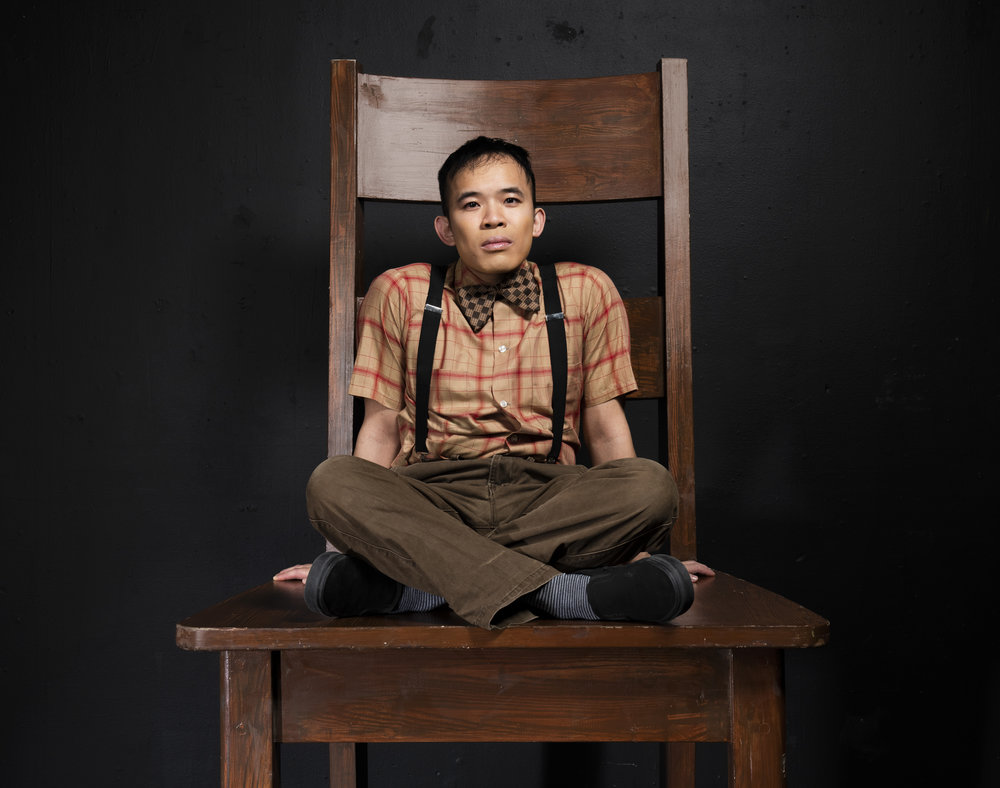 - Chris Lam plays Owen Meany. Photo by Emily Cooper.