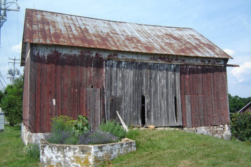 Barn Prior To Reconstruction