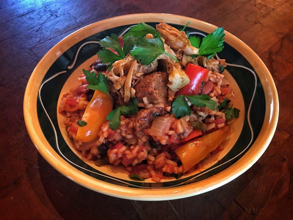 Vegan Recipe: Jambalaya