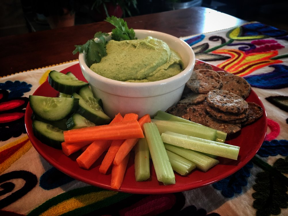 Vegan Recipe: The Green Hummus