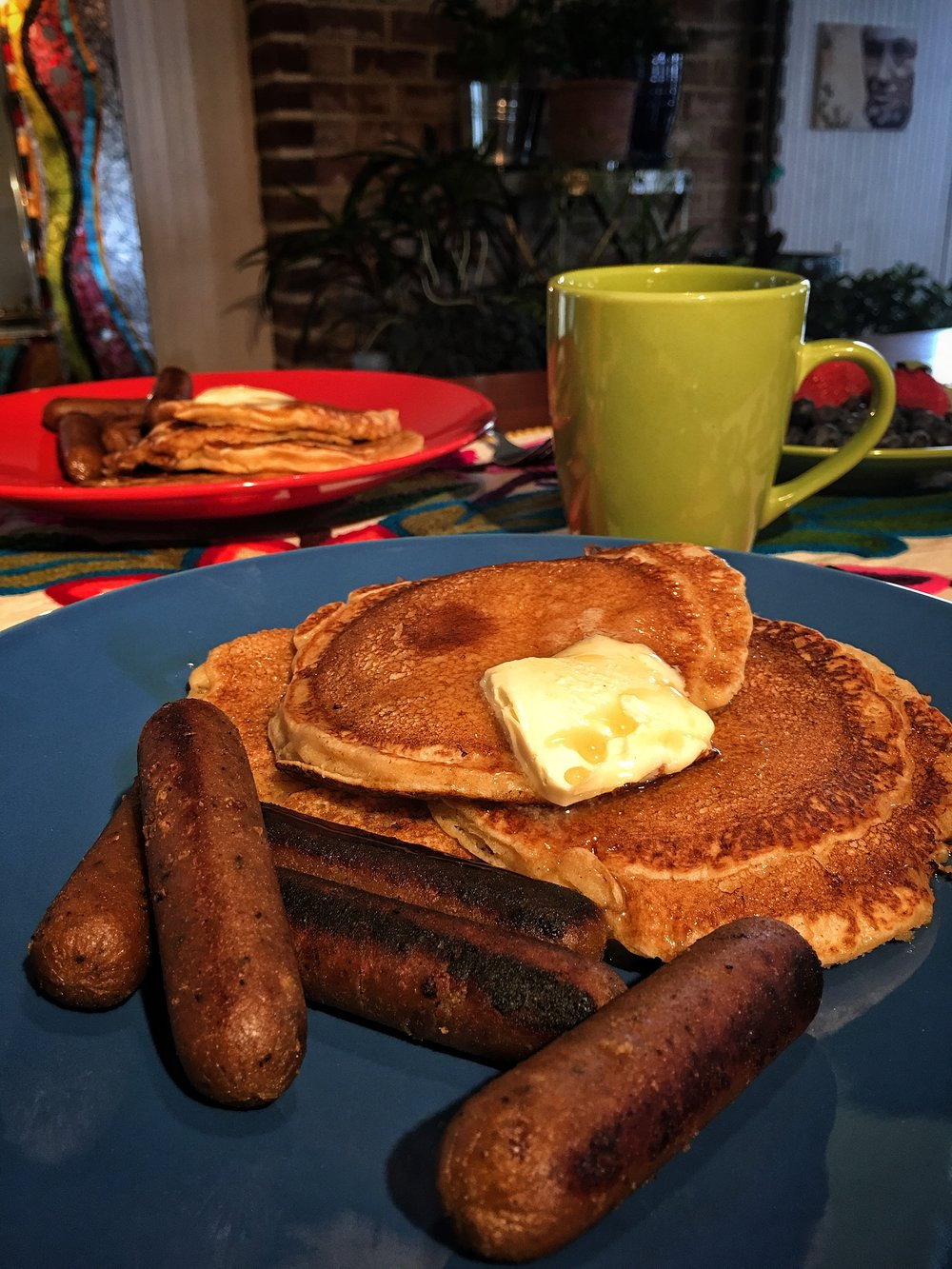 Yes We Can... Have Pancakes and Sausage!