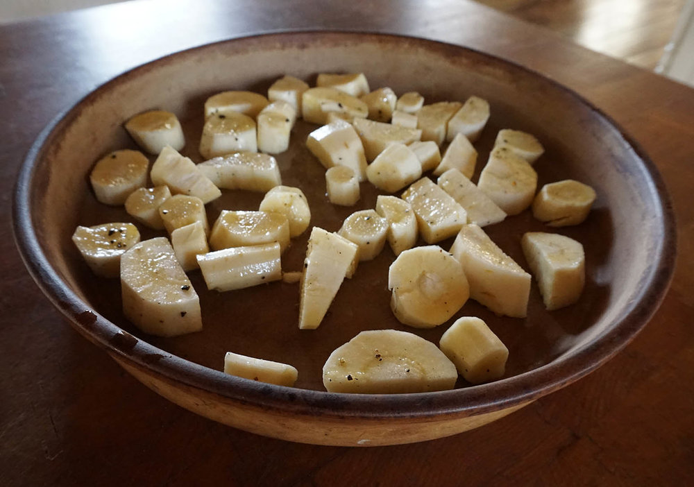 Vegan Recipe: Roasted Root Vegetable Wrap