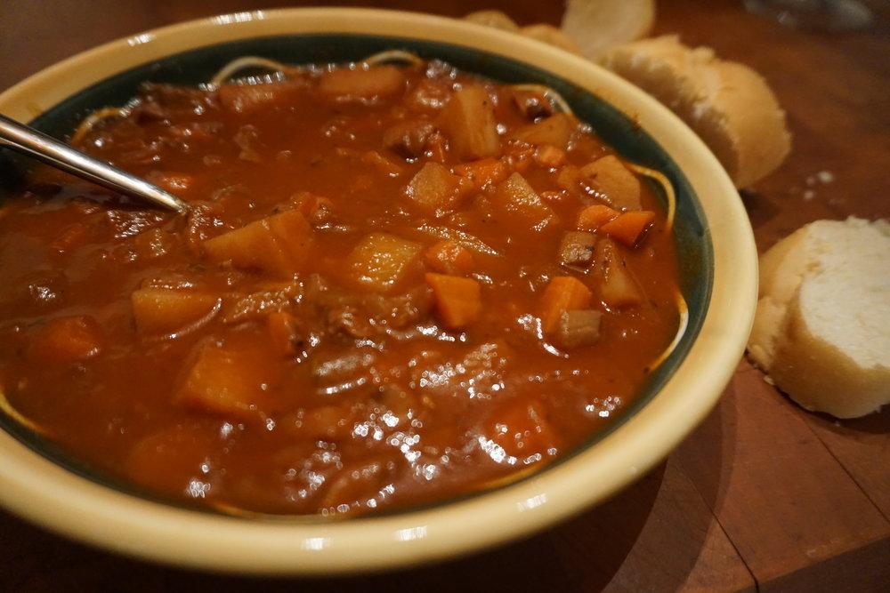Vegan Recipe: Goulash Soup