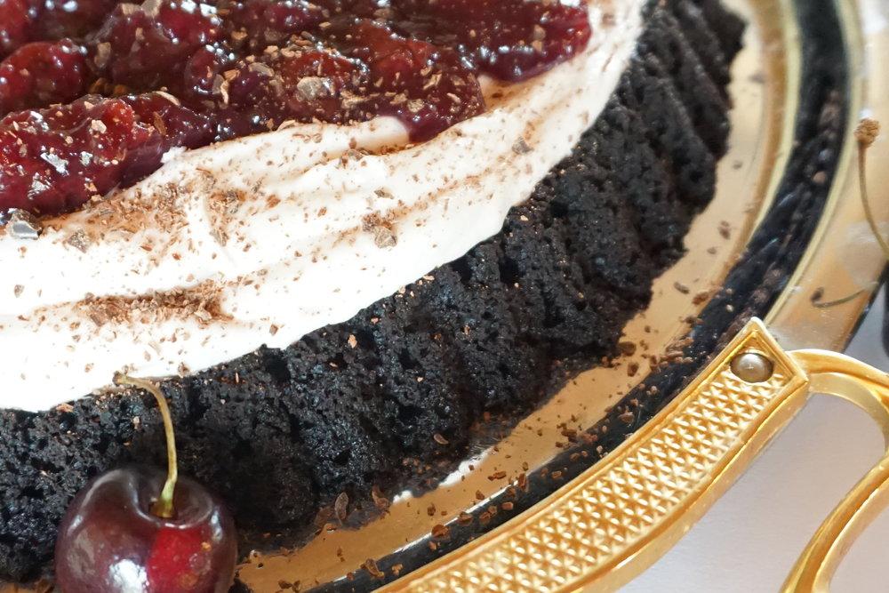 Vegan Recipe: Chocolate Chery Cake