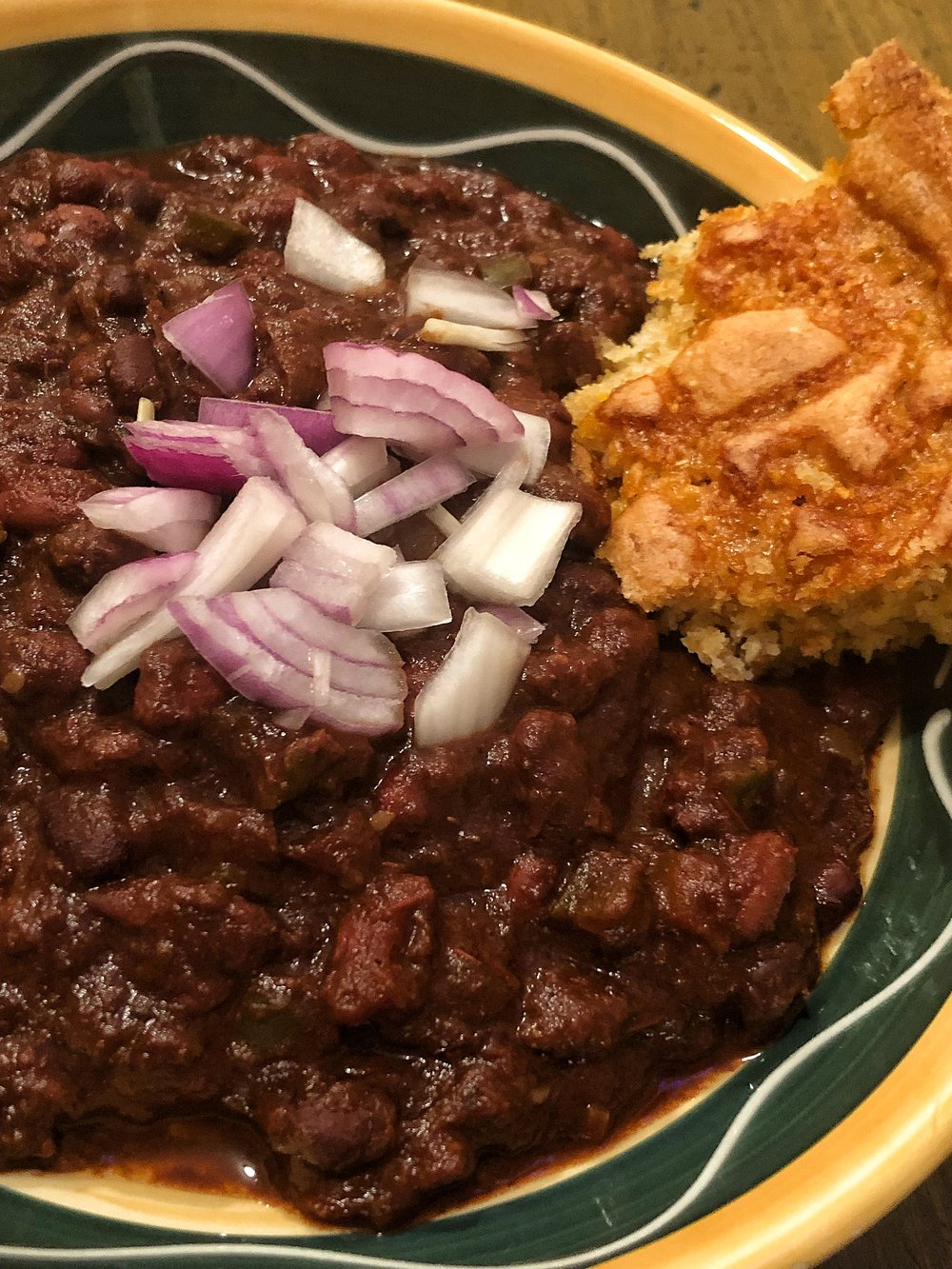 Chocolate Chili in a Crockpot (Plant Based)