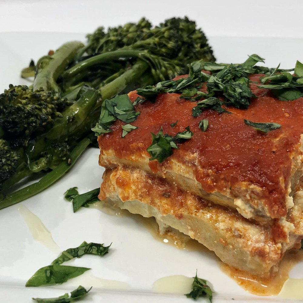 Eggplant Lasagna (Plant Based & Gluten Free)
