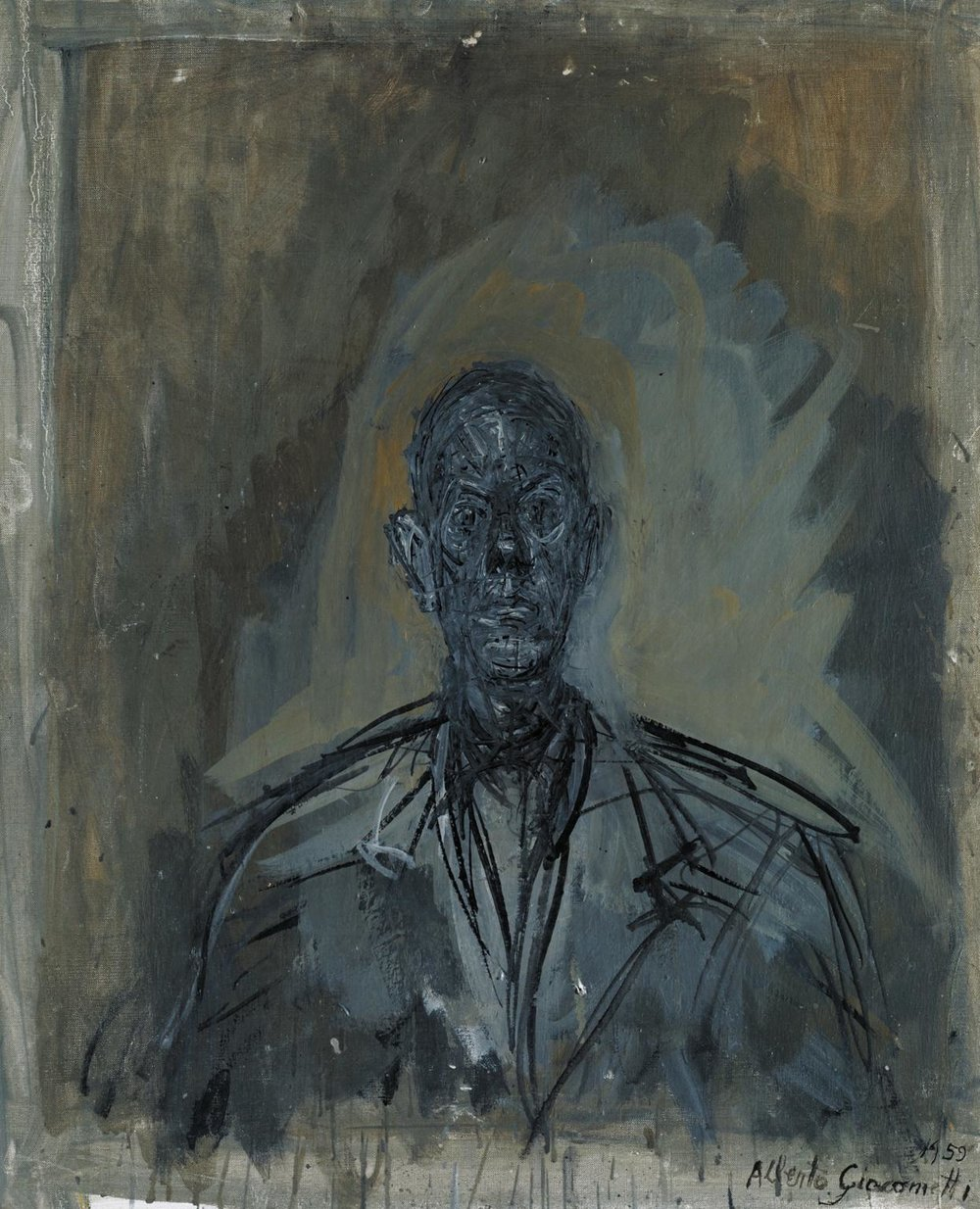 Diego © The Estate of Alberto Giacometti (Fondation Giacometti, Paris and ADAGP, Paris), licensed in the UK by ACS and DACS, London 2017
