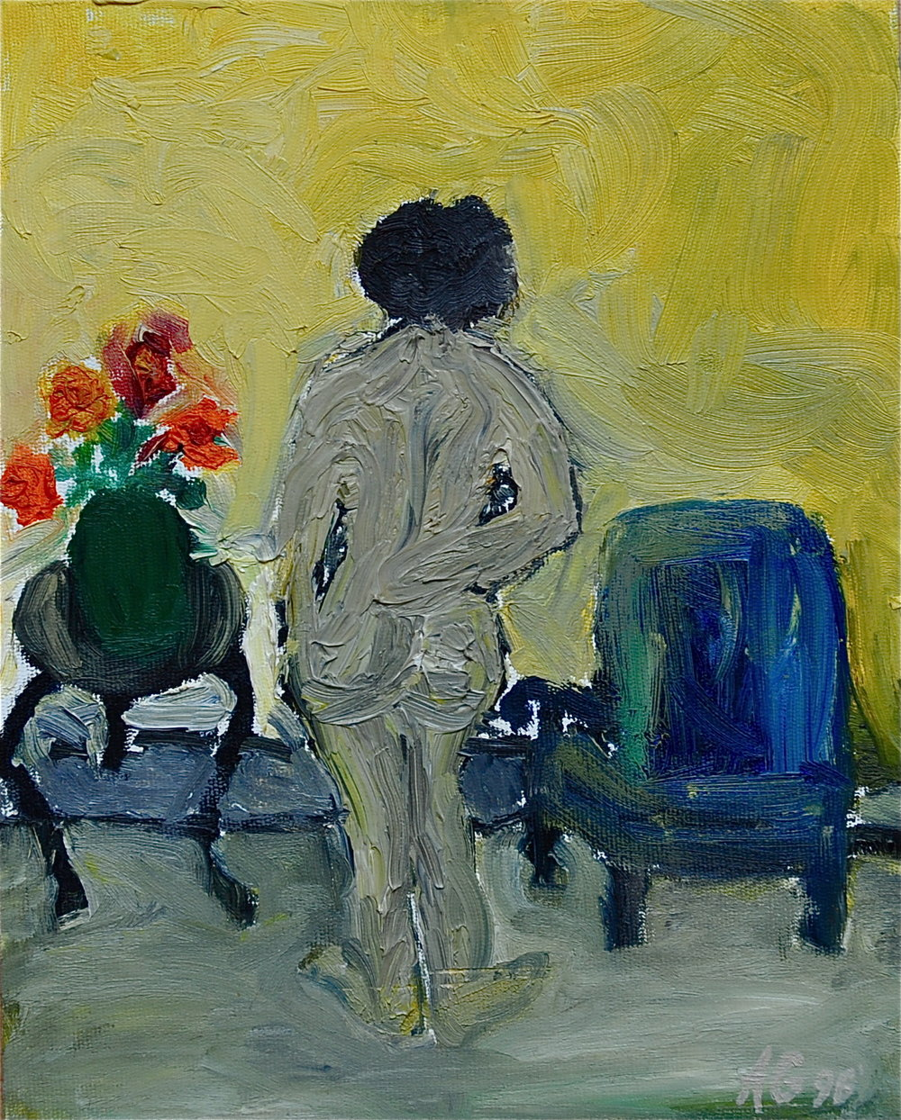 BLUE CHAIR  25.5x20cm-1996.JPG