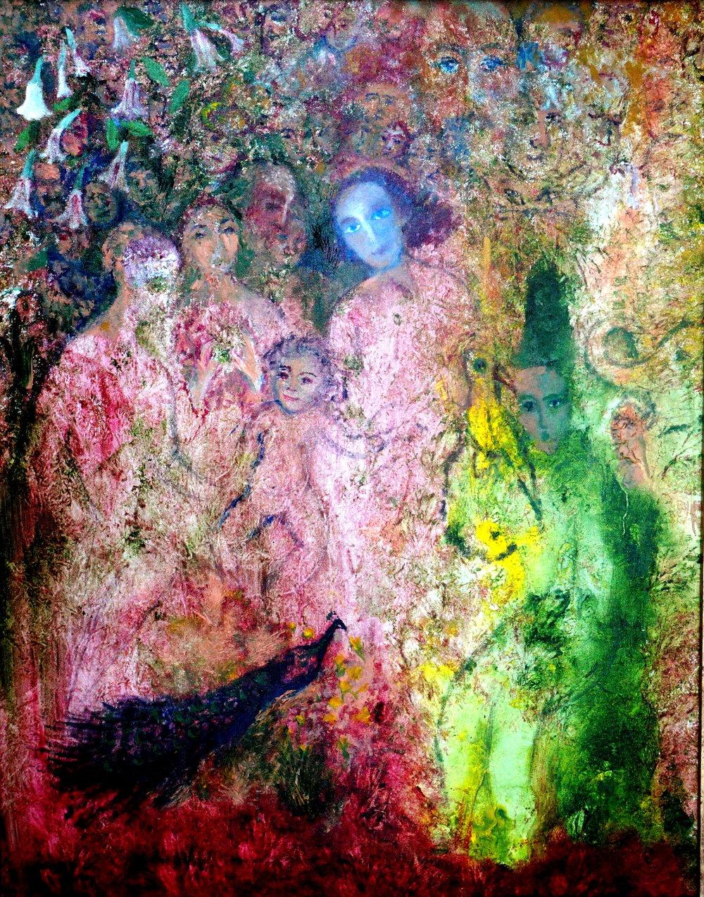 The Family_Acrylic on Canvas 24 x 30_2012.JPG
