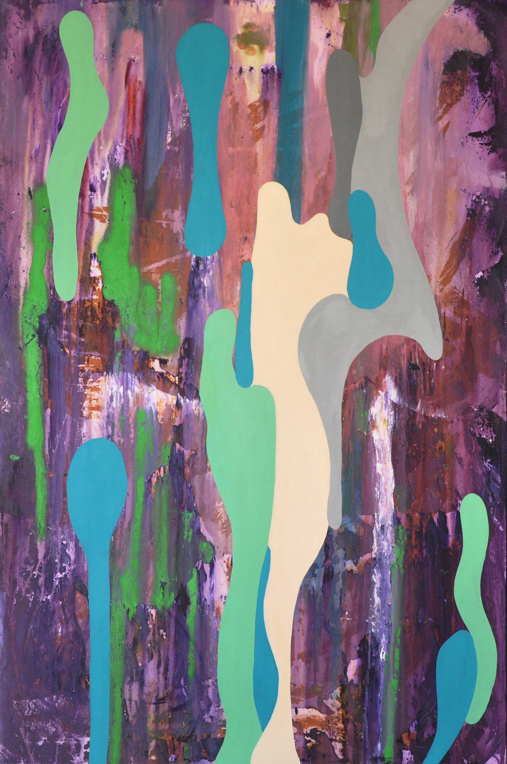 Javier Marten, GREEN MANSIONS A 2017. 150 x100 cm. mixed media.jpg