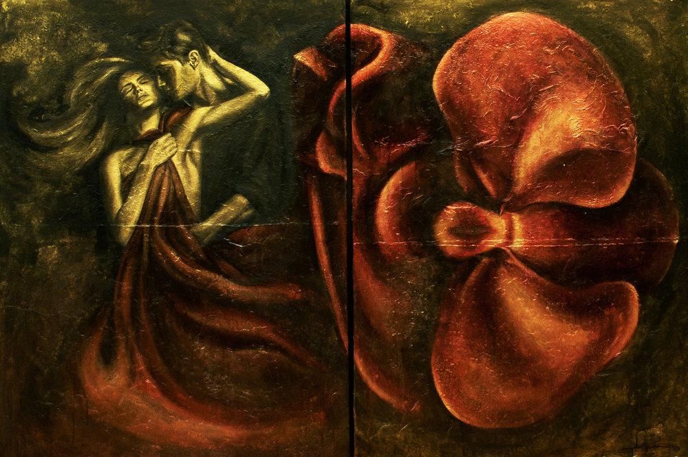 Diptych-Persephone & Adonis-{2x(120x90)cm}.JPG