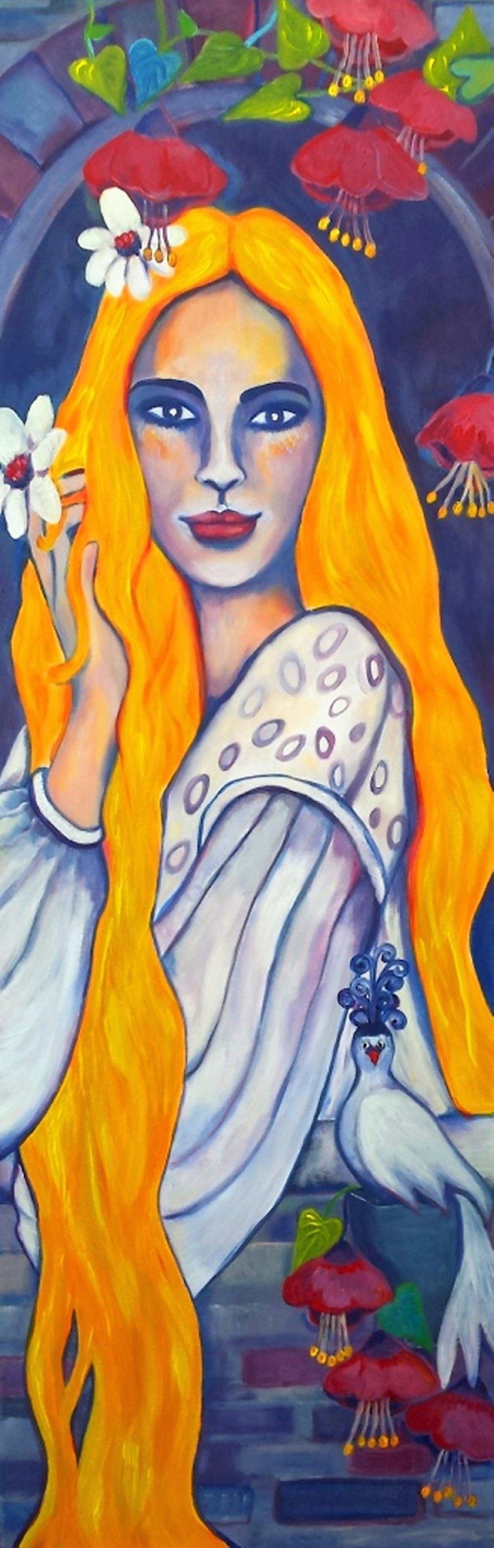 Rapunzel - Fairy Tale. Gabi Domenig.jpg