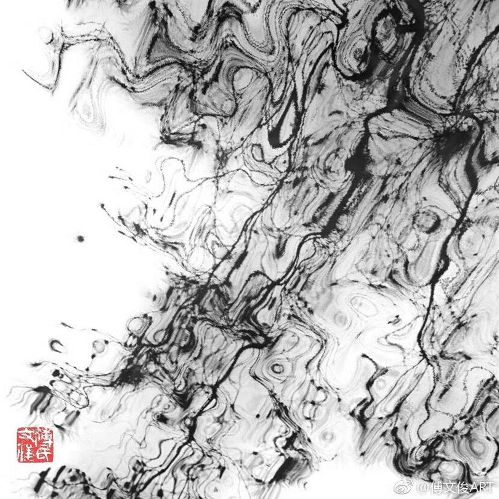 5 Mountain Is Mountain, Fu Wenjun, 60x60cm, Digital Pictorial Photography, 2017-2018.jpg