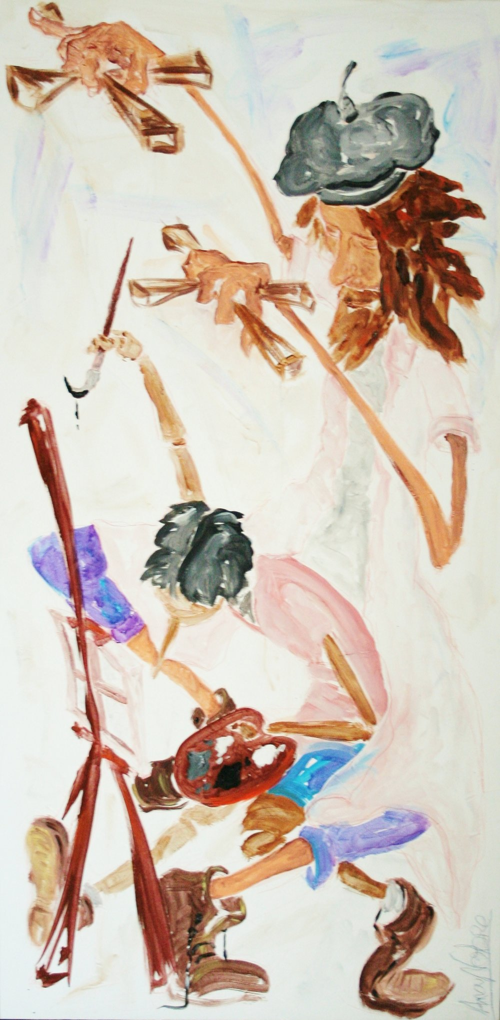 Puppet on a String Mixed Media on canvas 70x140cm.JPG