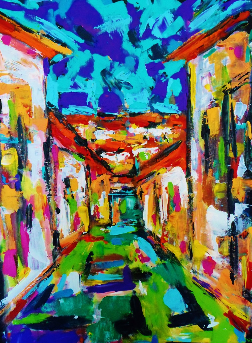 Street           Acrylic on Canvas 50x70cm.JPG