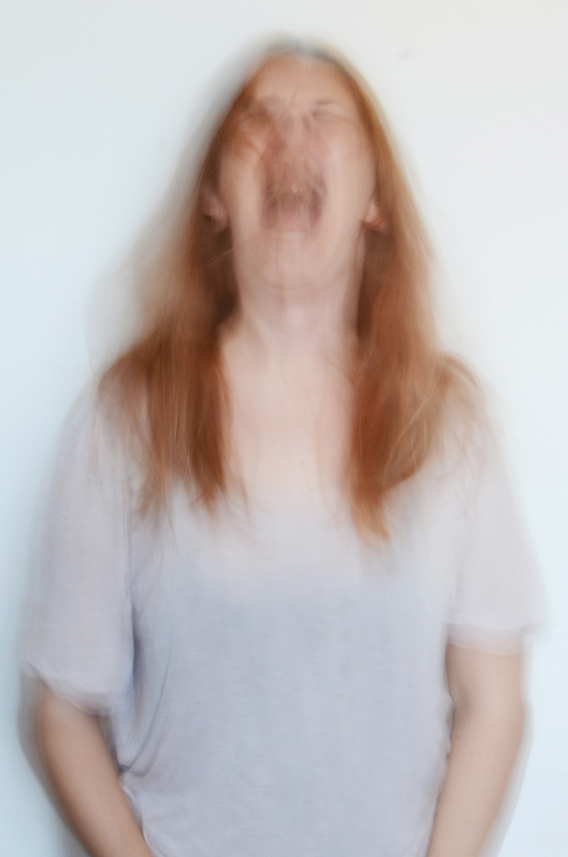 Self-portrait Sequence: Scream