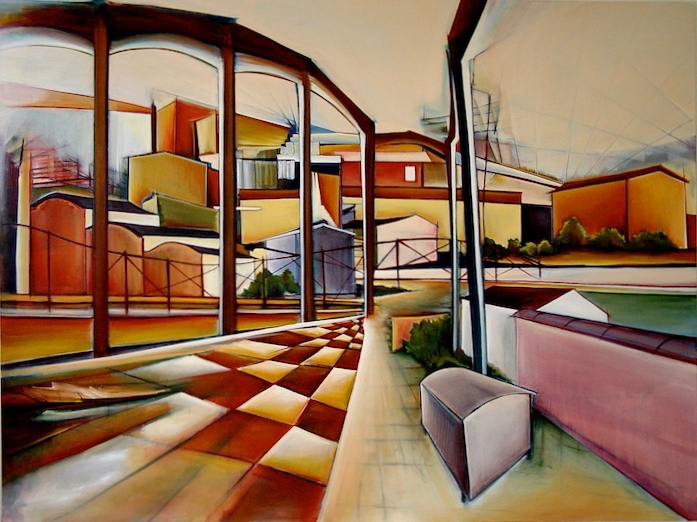 4. Evening Light, Oil on canvas, 150 x 200 cm.jpg