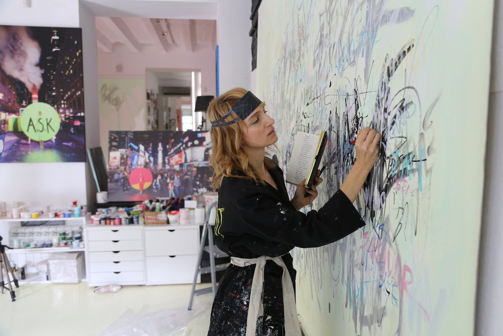 blog 3 Artist in her studio 3.JPG