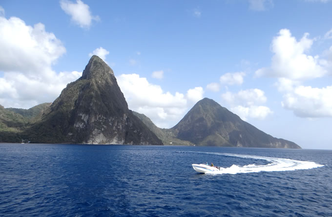 Boat Tours in St Lucia