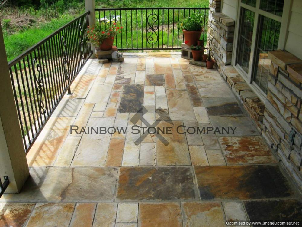 Rainbow Flagstone
