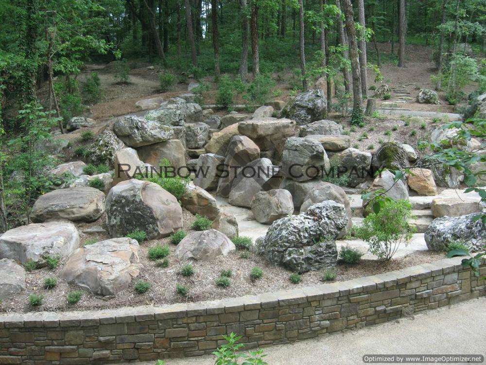 Moss Boulders