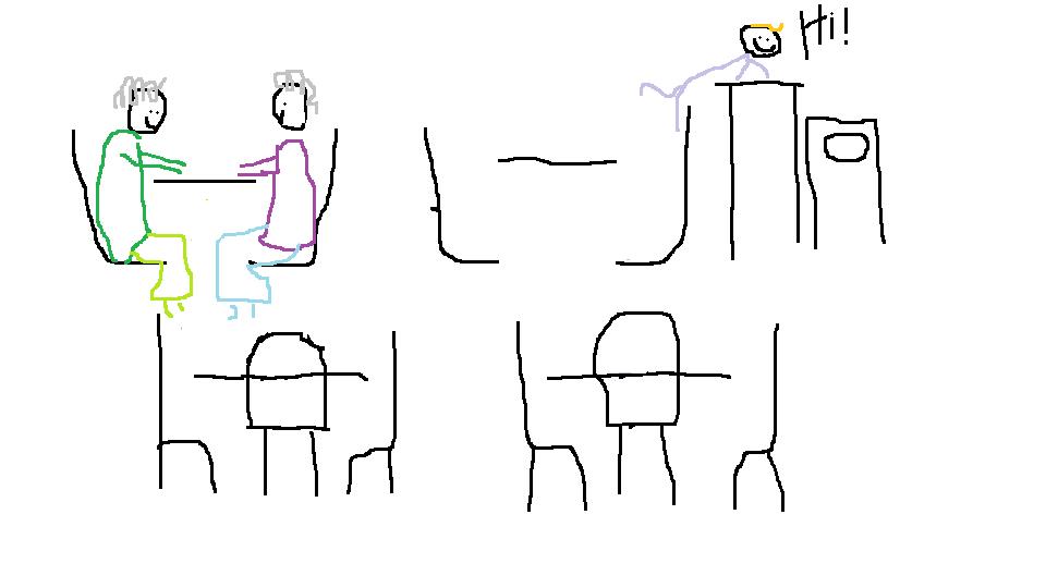 subway table 5