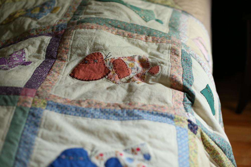 sunbonnet sue quilt