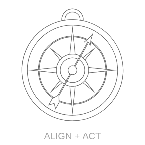 ALIGNING + ACTION