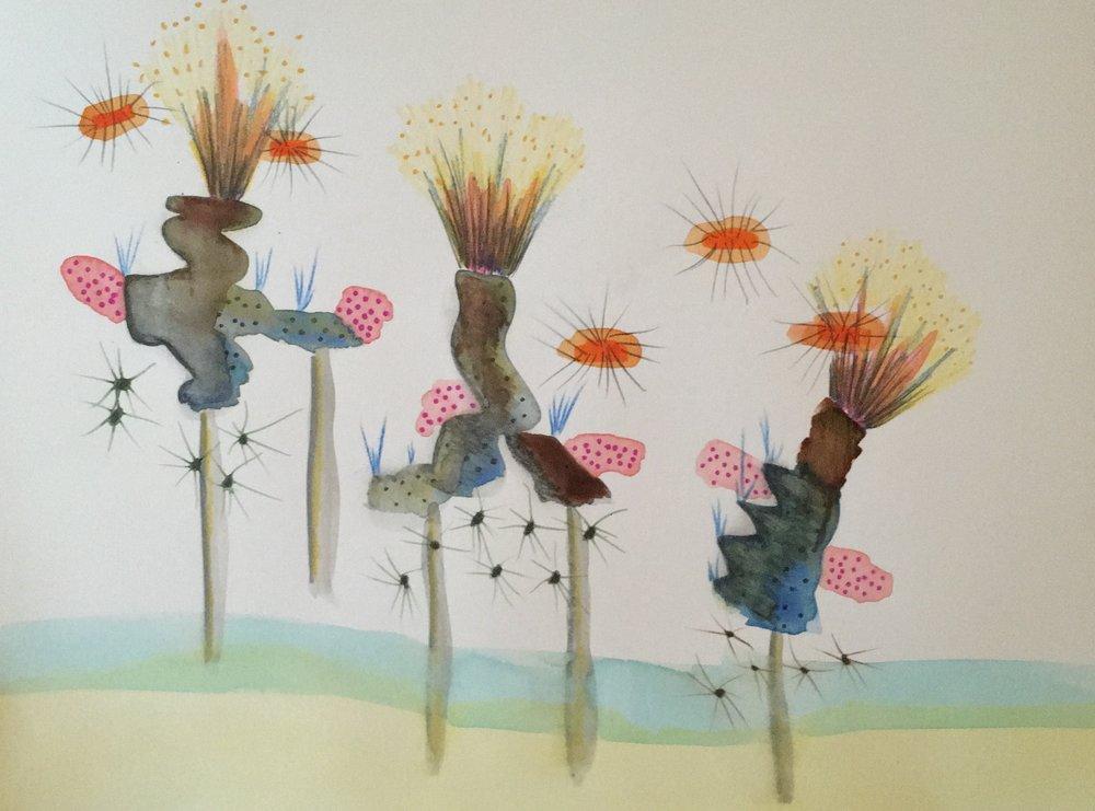 Imaginary plants 1