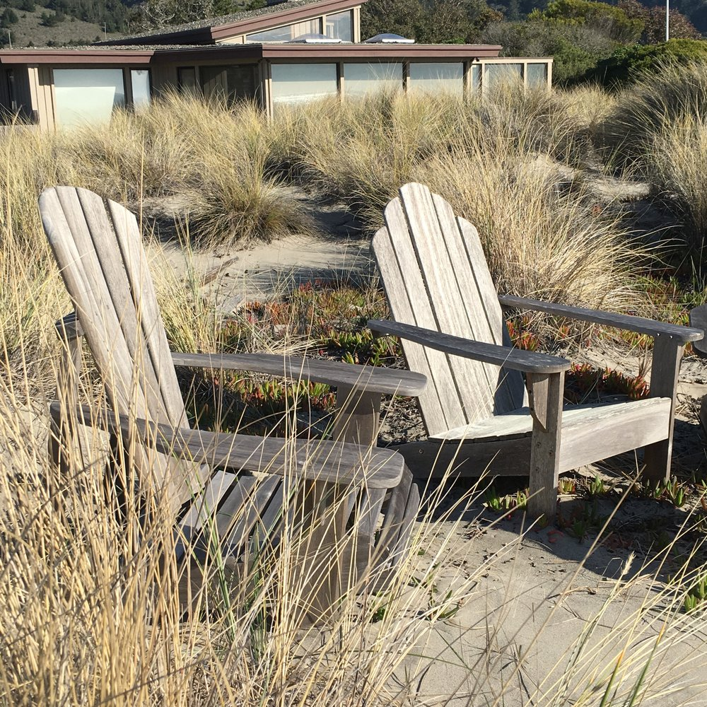 Grey Beach Chairs