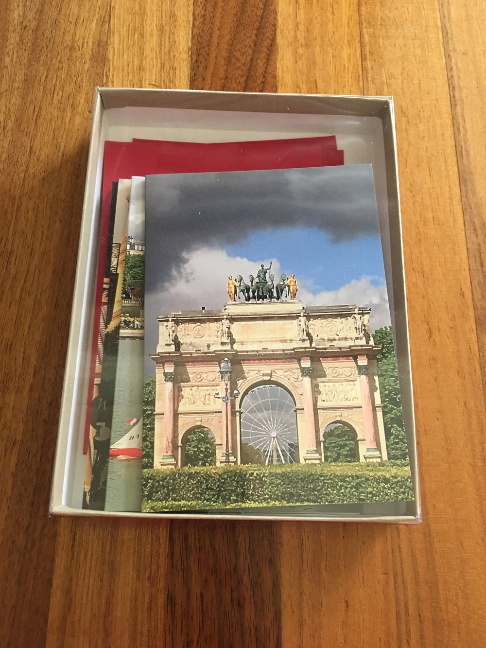 $30.00 Boxed set of 5 cards: Paris Collection