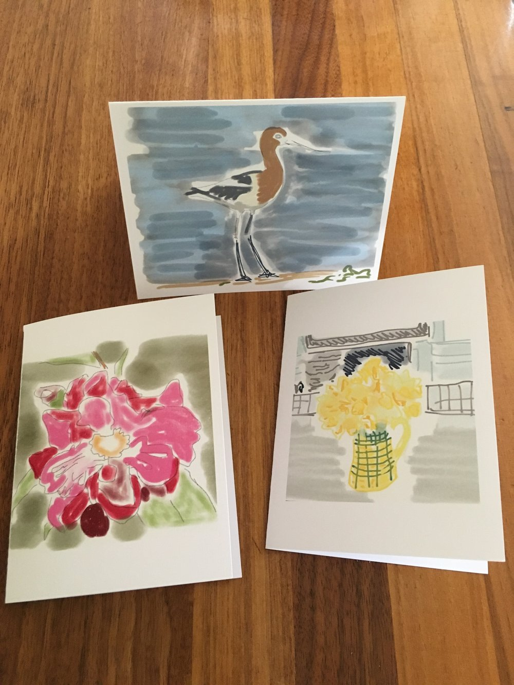 Trio of Spring Greeting Cards