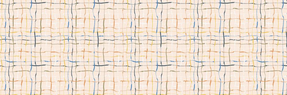 "A new ""wonky"" stripe pattern"