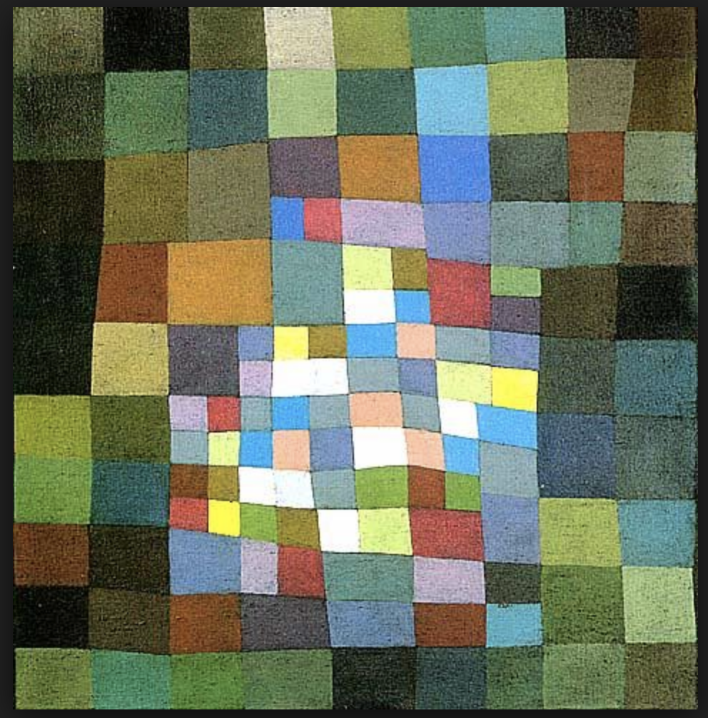 WikiMedia Commons image from Paul Klee's Temporis Collection