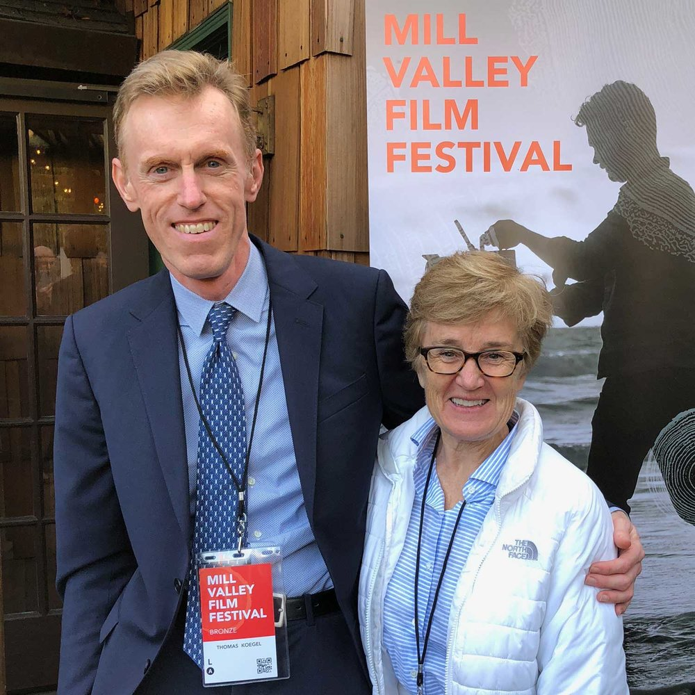With my husband, Tom, at MVFF41