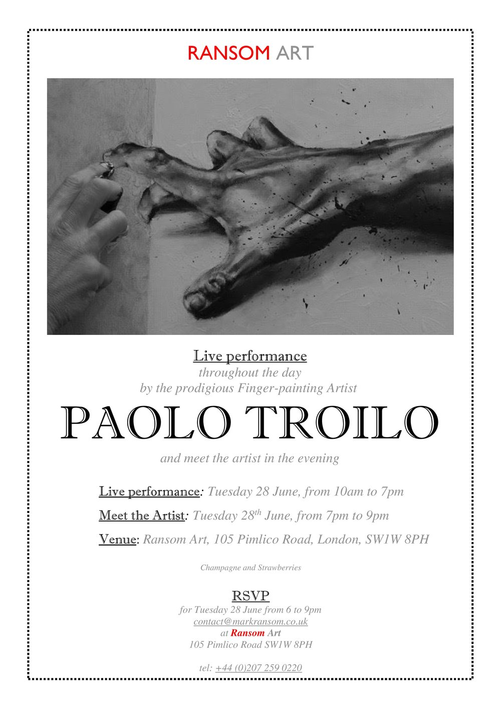 Performance Invitation