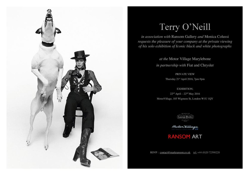 invitation-terry-o-neill-solo-exhibition-motovillageuk-ransom-art-gallery