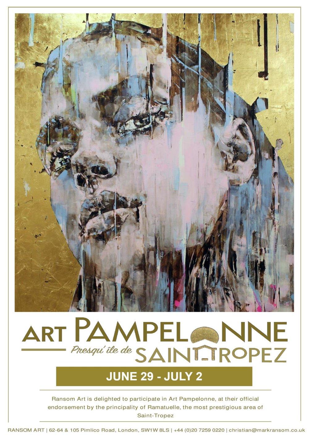 Art Pampelonne Invitation