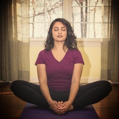 Hemali Lala - seated pose