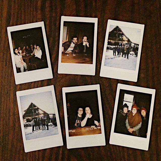 A snowy weekend getaway with the best around. So thankful for these people. 💕
