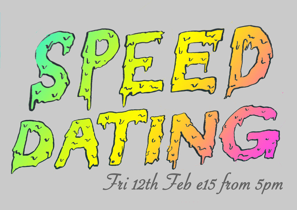 Speed Dating  event 21/2/2016